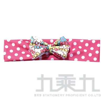 KT蝴蝶結束髮髮帶-亂花 746322