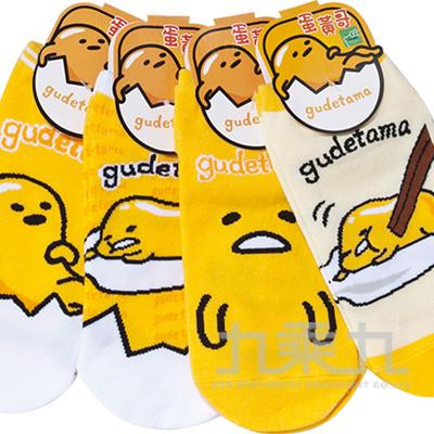 蛋黃哥直板襪-經典 22-26cm