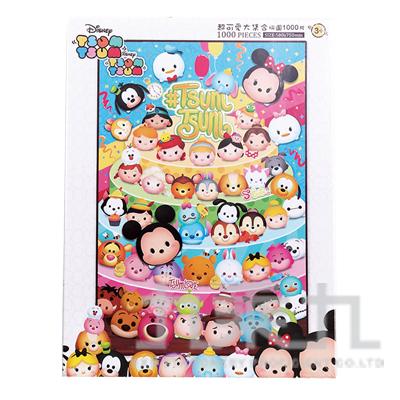 Disney Tsum Tsum 超可愛大集合拼圖1000片