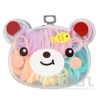 小熊盒裝橡皮筋-彩 0507-29