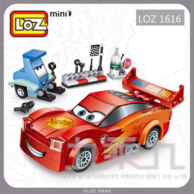 積木-紅跑車 1616