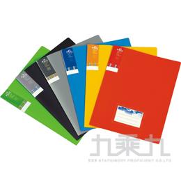 誌揚 A4橫紋板輕便文件夾(6入) CH116