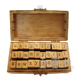 英文字母印章組(小寫) -旅行時光