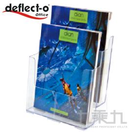 迪多 deflect-o 兩層高背目錄架-A4  77865