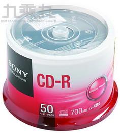SONY 48X CD-R白金片(50布丁桶)