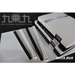 誌揚 PP.A4黑白系列30孔活頁夾(白) C3001-W