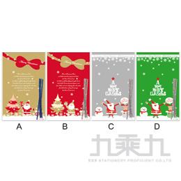 耶誕糖果禮物袋﹙大﹚-8入 -隨機出貨