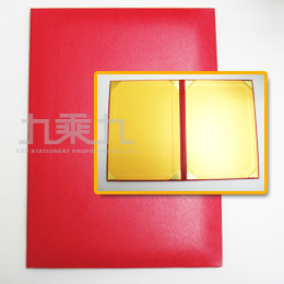 證書夾A4-紅