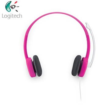 羅技 Logitech  H150耳機麥克風-粉紅