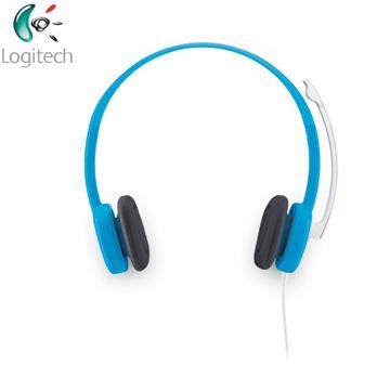 羅技 Logitech  H150耳機麥克風-藍色