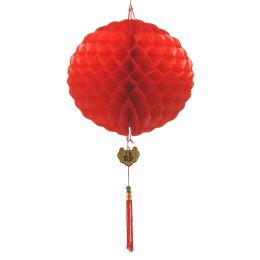1尺彩球 紅