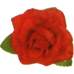 布絨玫瑰花