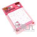 654-WP Kitty Notes-4 利貼便條紙 3M系列滿額贈