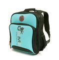 UNME 立式書包-藍綠3077