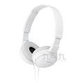 SONY折疊全罩式耳機-白 MDR-ZX110/W
