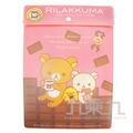 拉拉熊直式文件袋(巧克力版)
