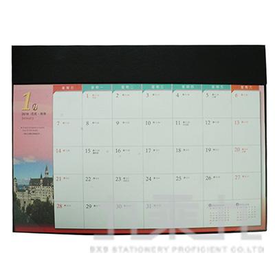 4K桌曆(附墊)-黑 TD18-0401-1