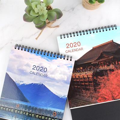 2020年24K三角月曆(風景) BC-05172(多款隨機)