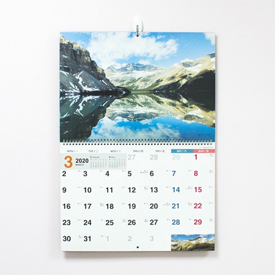 2020年A3吊掛式月曆(風景) BC-05157