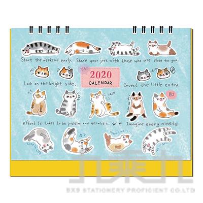 2020 O-CAT桌曆-排排坐 JBC-77B