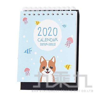 2020 PUPPY桌上型月曆(小)-柯基 LW-A2081A