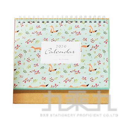 2020花漾森林桌上型月曆(大)-綠 LW-A2045C