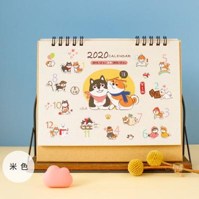 柴之助2020年三角桌曆(米)