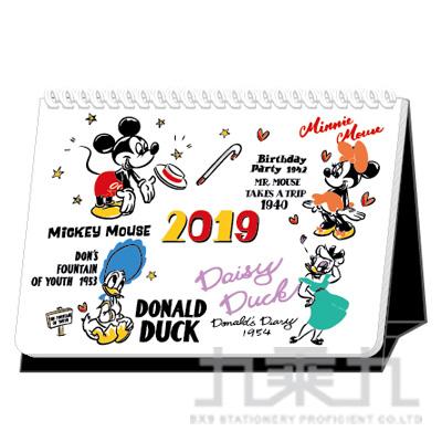 迪士尼2019站立式月誌-A5 DPMC-0264B