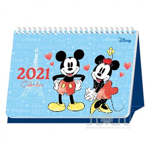 迪士尼2021桌曆-A5 DPMC-0268B