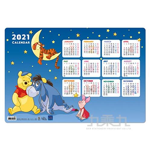 迪士尼2021桌墊年曆 QPMC-2106A
