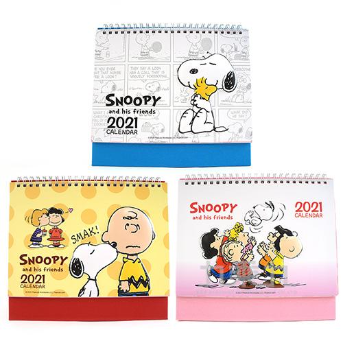 SNOOPY 2021年 立體桌曆 SPDYM200-1(款式隨機出貨)