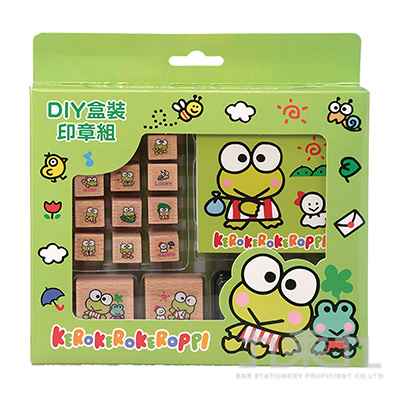 K/R 大眼蛙DIY盒裝印章 187150