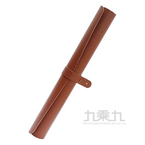 雙色皮革辦公桌墊90*45cm-咖啡灰