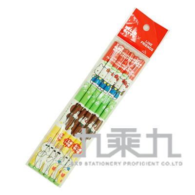 K/TxLINE 6入三角木頭鉛筆 766501