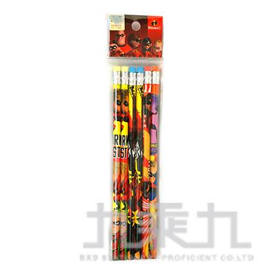 超人特攻隊2 6入木頭鉛筆 SPPEN60-1