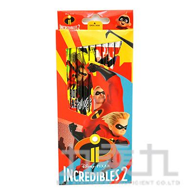 超人特攻隊2 12入盒裝木頭鉛筆 SPPEN110-1