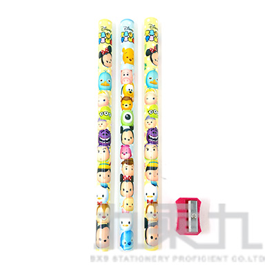 迪士尼 TSUM TSUM3入學前木頭鉛筆 TTPZN60-14