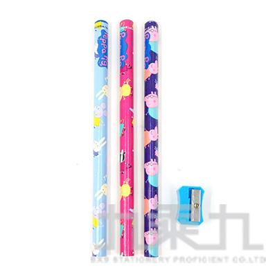粉紅豬小妹3入學前木頭鉛筆(7) PGPEN60-32