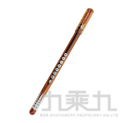 SKB 0.5中性筆 咖啡色 G-10