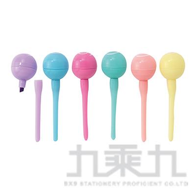 棒棒糖6入螢光筆 AA180671