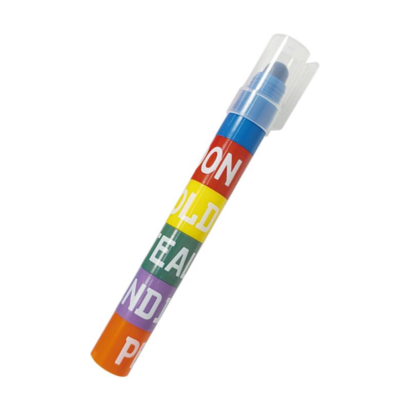 復古色拼接果凍螢光筆 CS-H743