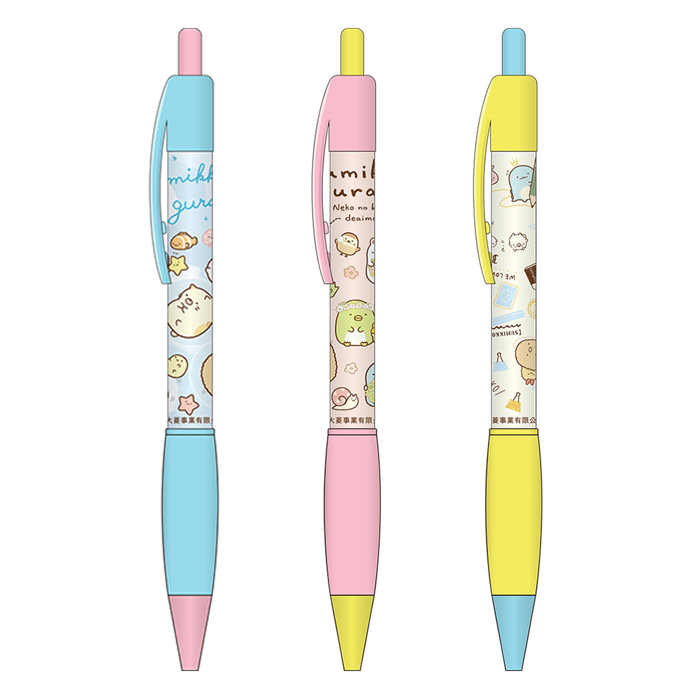 小夥伴膠套原子筆(顏色隨機出貨)