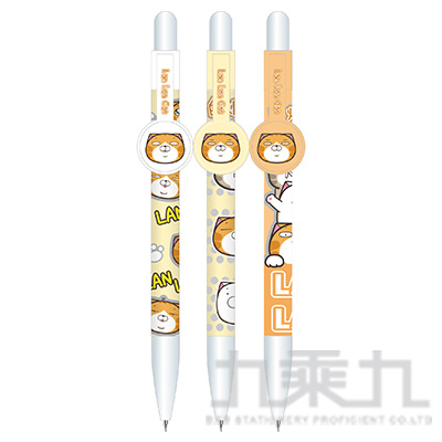 白爛貓圓型筆夾自動中油筆 (恕不挑款)