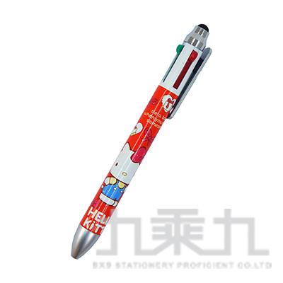 K/T新版蝴蝶結版四色筆+觸控 766886