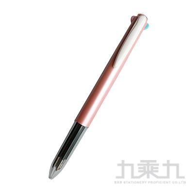 素的材四色筆-粉紅桿 PA0451-R