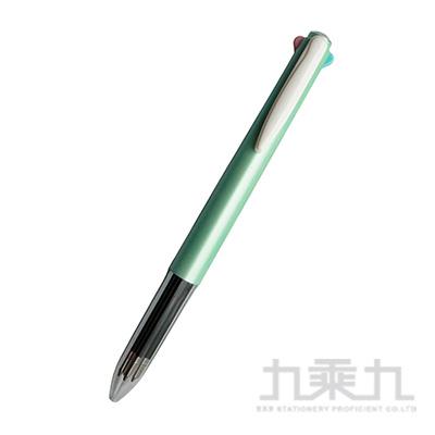 素的材四色筆-粉綠桿  PA0451-G