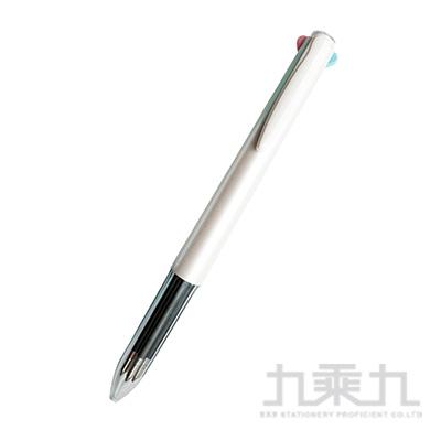 素的材四色筆-白 PA0451-W