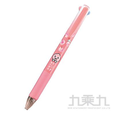 粉桃蜜語四色筆 BP-B5518