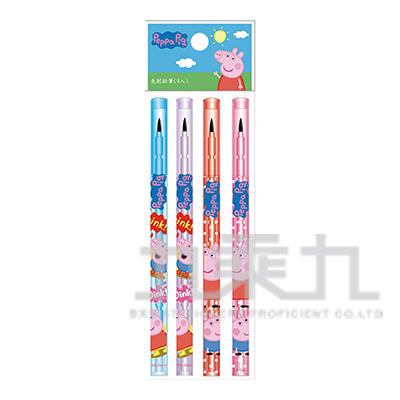 粉紅豬小妹免削鉛筆(4入)(5) PGPEN60-23