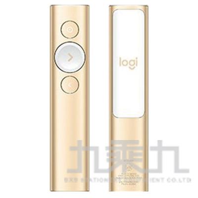 羅技簡報遙控器-香檳金 SPOTLIGHT
